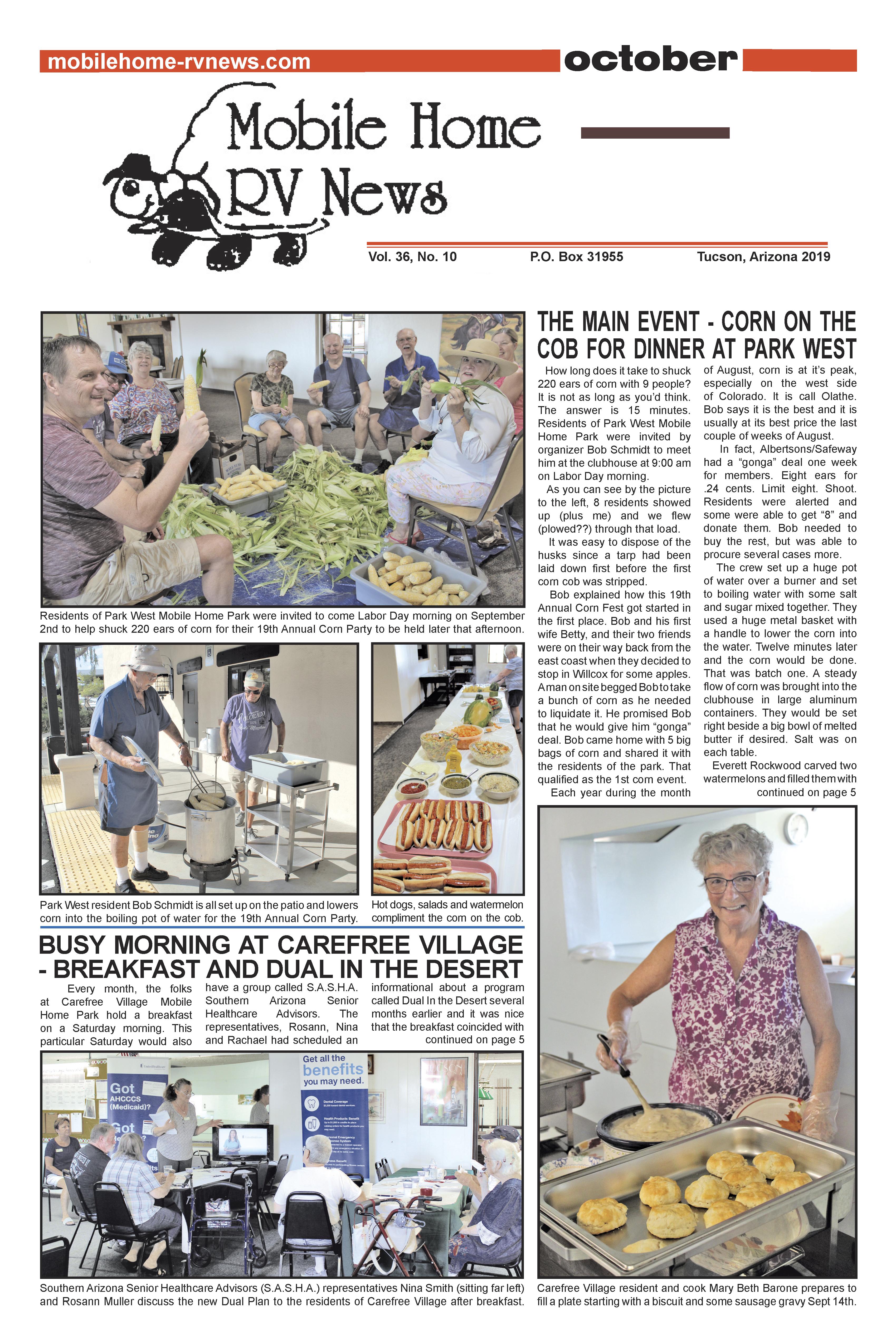Mobile Home-RV News - January 2015